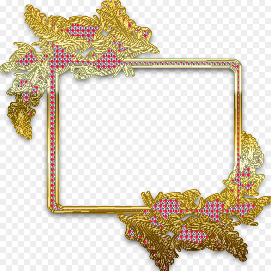 New Year\'s Eve Picture Frames New Year\'s Day - diamond border png ...