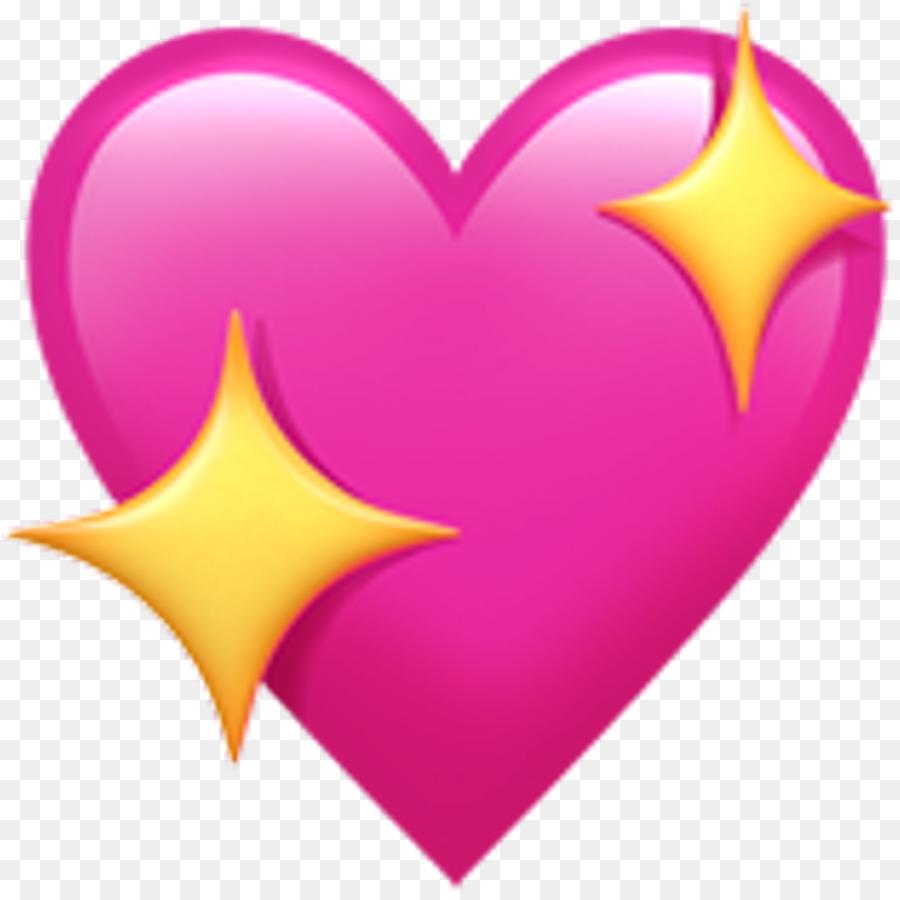 Emoji Heart Sticker Symbol Love Stickers Png Download 1003993