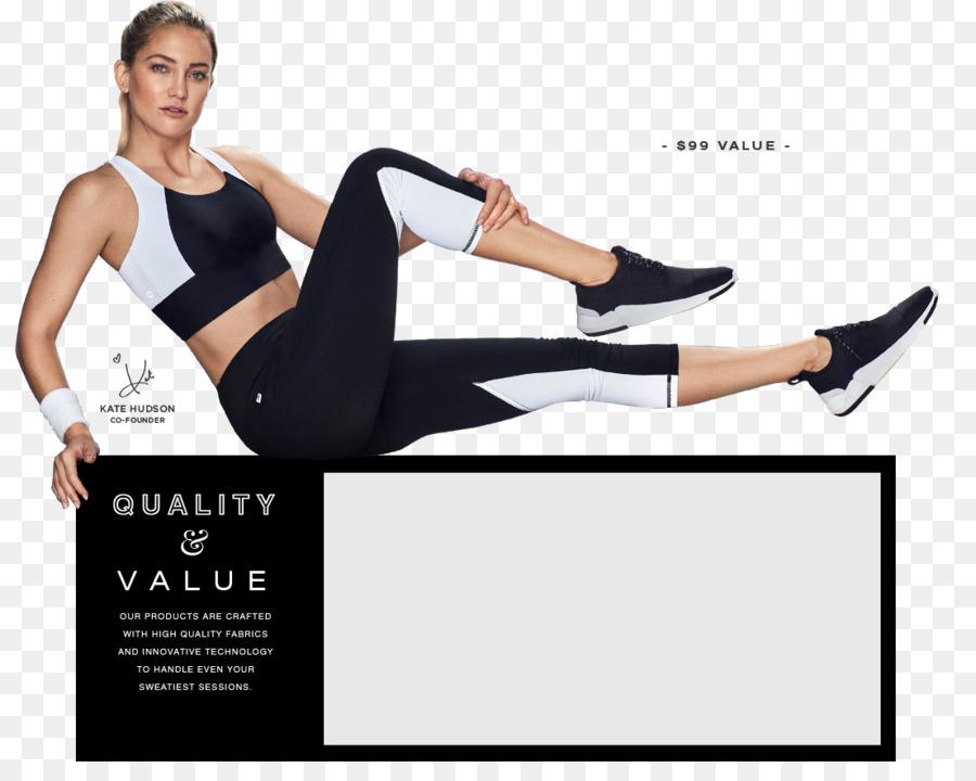 b165b42f55 T-shirt Fabletics Clothing Leggings Yoga pants - kate hudson png ...