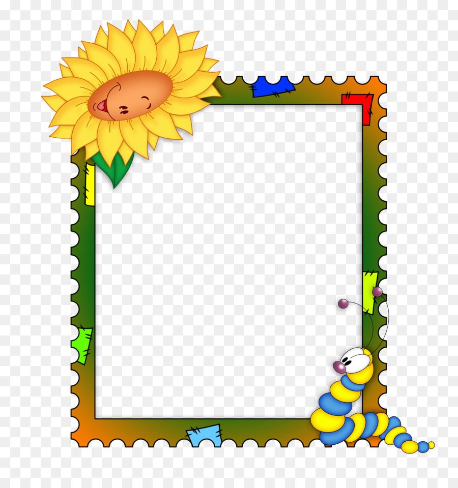 Picture Frames Child Clip art - kids frame png download - 2200*2300 ...