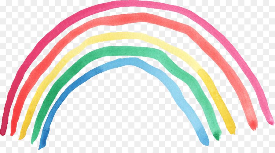 Free Photo Watercolors Rainbow Colors Lilac: Transparent Watercolor Watercolor Painting Rainbow Clip
