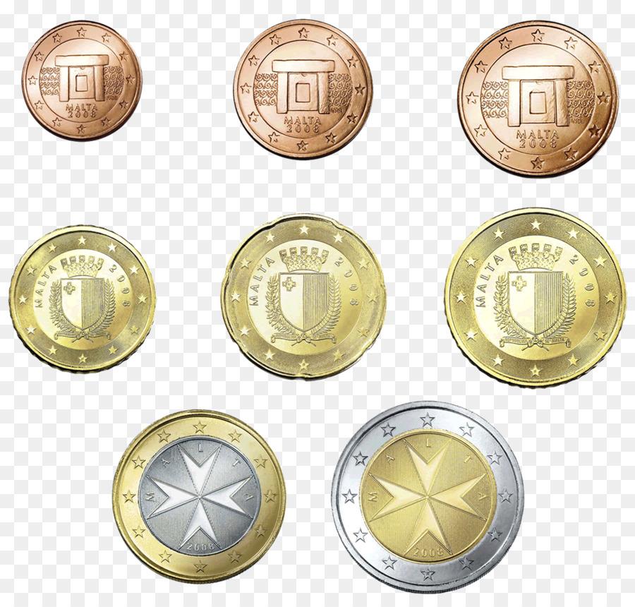 Malta Maltesische Euro Münzen 2 Euro Gedenkmünzen Coins Münzen Png