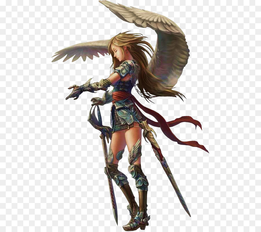 Dungeons Dragons Aasimar Role Playing Game Player Character Angel