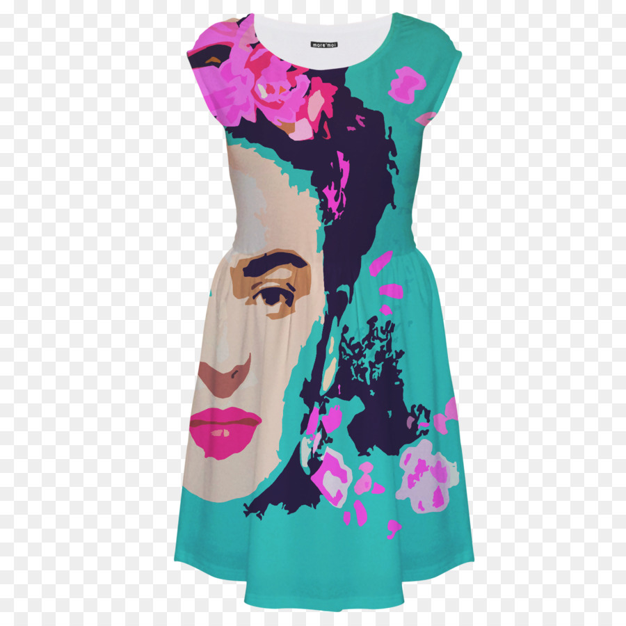 35386f2f1c40 T-shirt Dress Clothing Turquoise Sleeve - FRIDA png download - 1420 1420 -  Free Transparent Tshirt png Download.