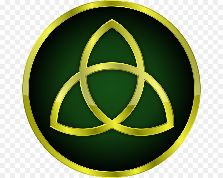 Shield Of The Trinity Triquetra God Sabellianism Celtic Png