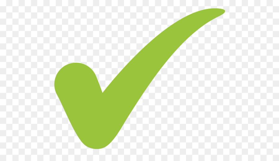 Chroma Key Check Mark Tilde Symbol Green Tick 600510 Transprent
