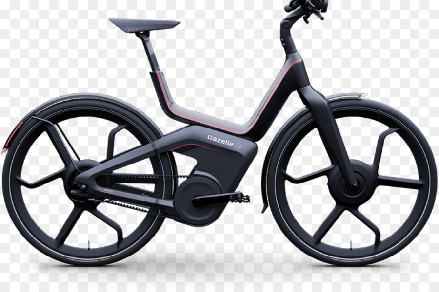 Electric bicycle Gazelle Bicycle Frames Cycling - gazelle png ...
