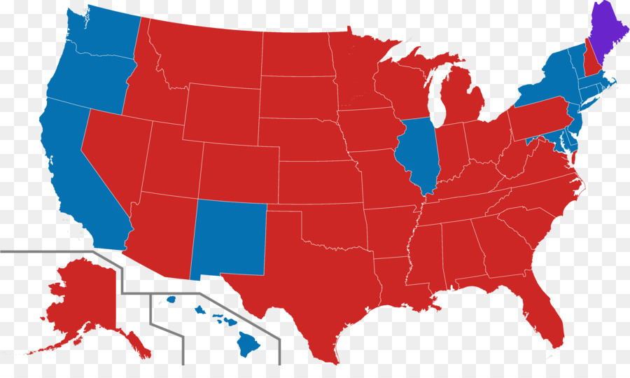United States Elections 2014 Us Presidential Election 2016 United - Map-of-us-representatives