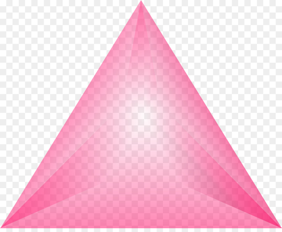 pink triangle chokhmah keter tiferet triangle png download 1845