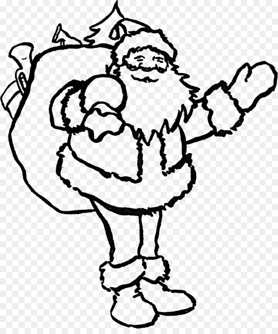 santa claus christmas coloring book place mats clip art saint nicholas