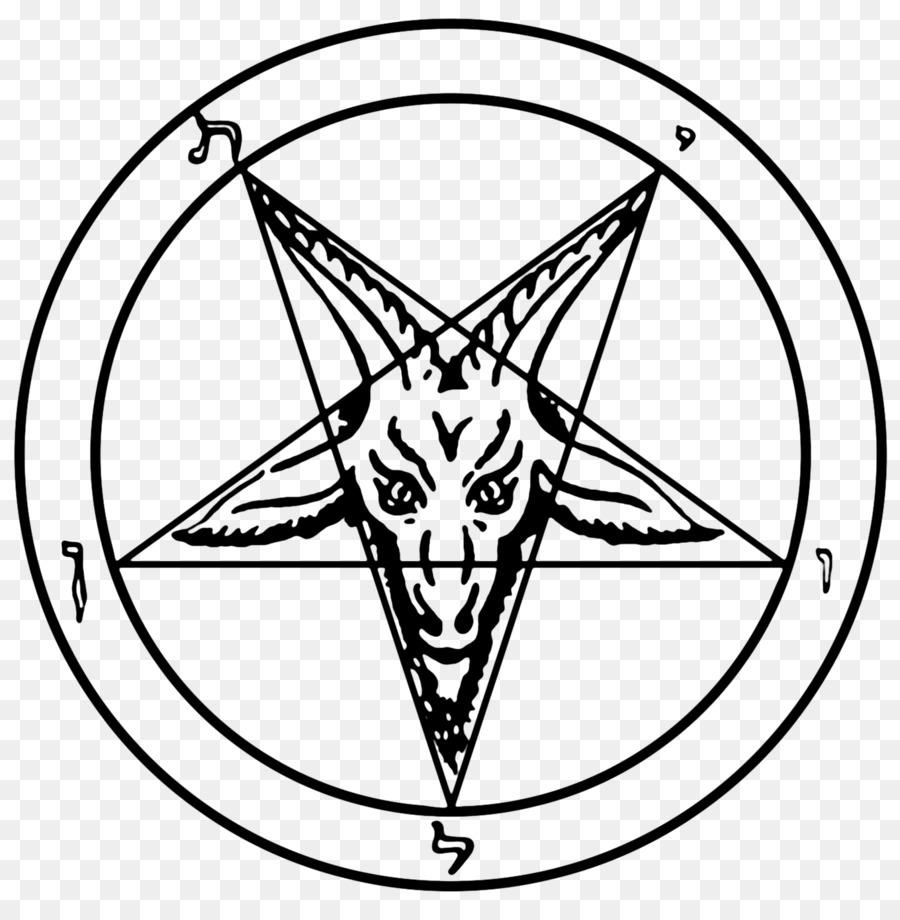 Satanic Bible Line Art png download - 1360*1364 - Free Transparent