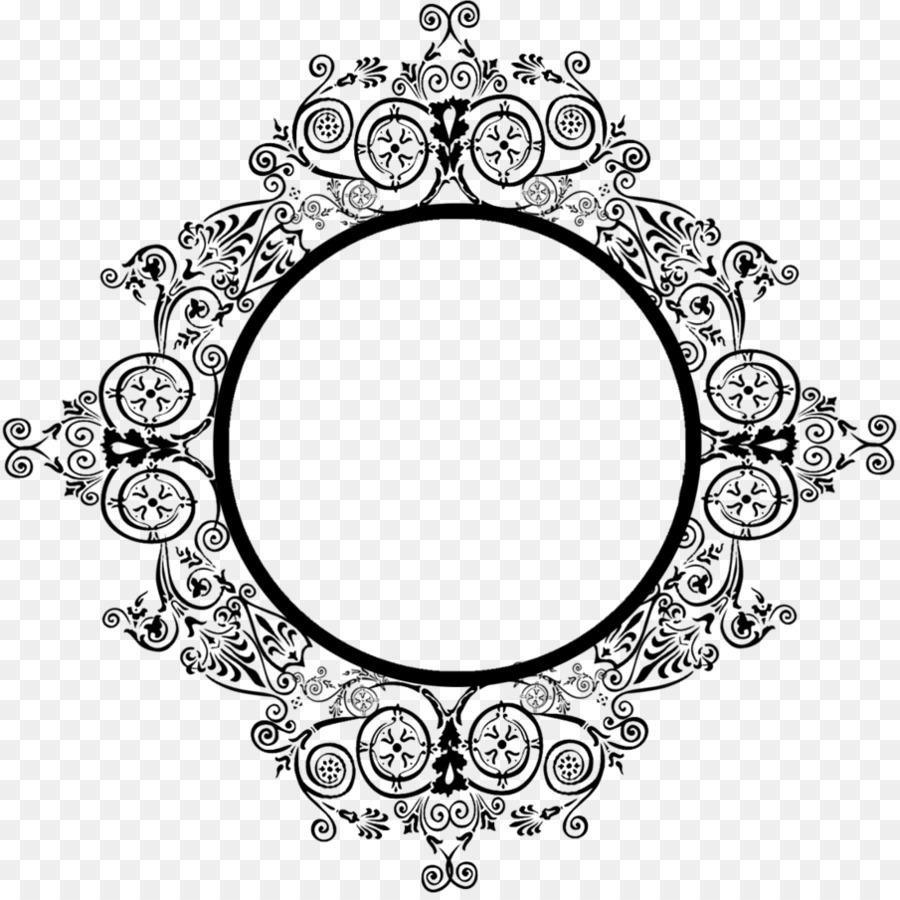Picture Frames DeviantArt Ornament - lace frame png download - 895 ...