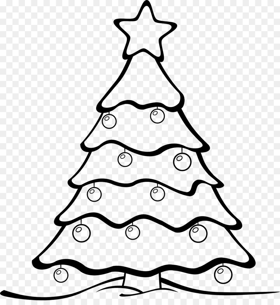 Drawing Christmas Tree Clip Art Mango Tree Png Download 1194