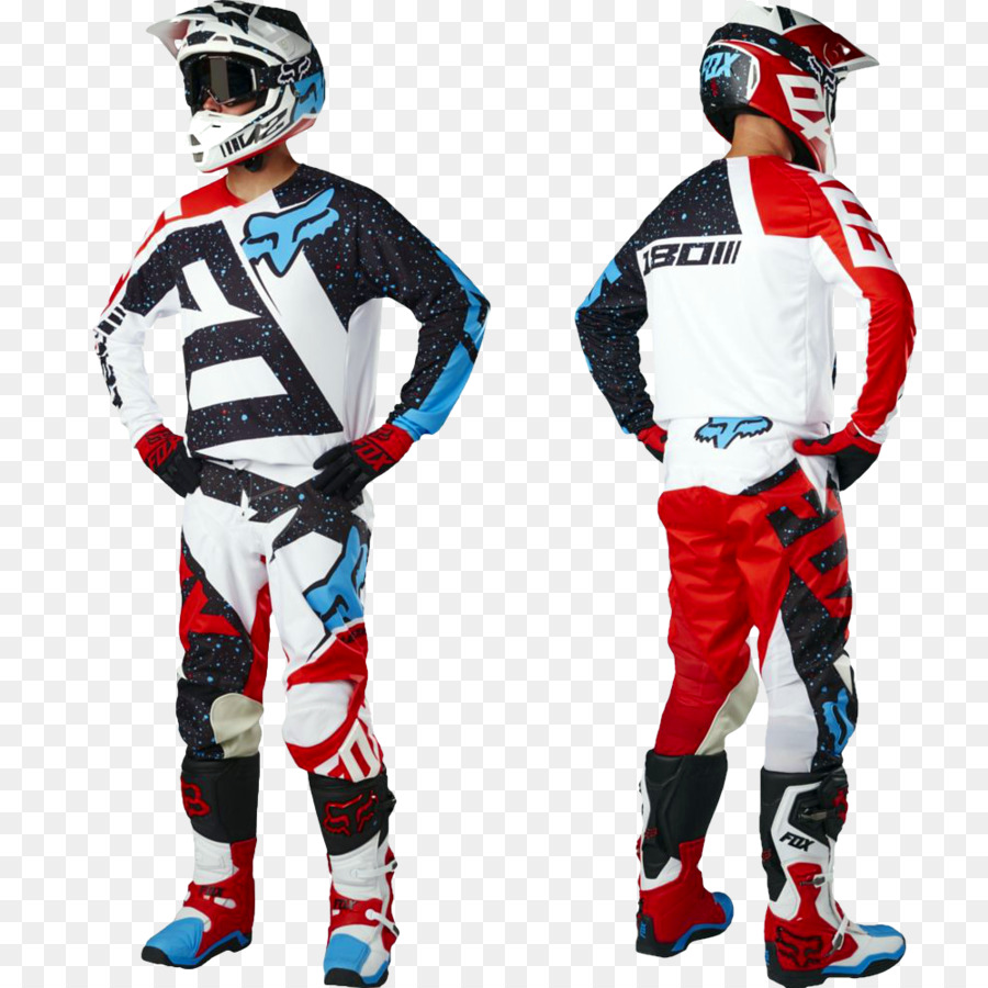 Motorcycle Helmets Fox Racing Clothing Motocross Jersey - motocross ...