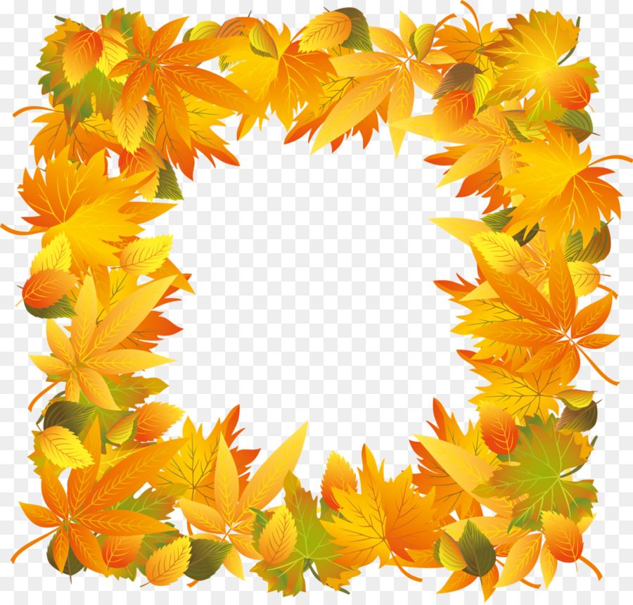 Borders and Frames Thanksgiving Picture Frames Clip art - autumn png ...