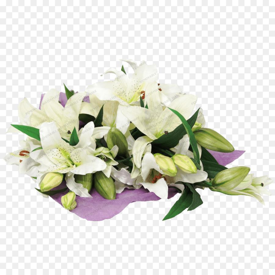 Flower Bouquet Cut Flowers Lilium Lily Png Download 10001000