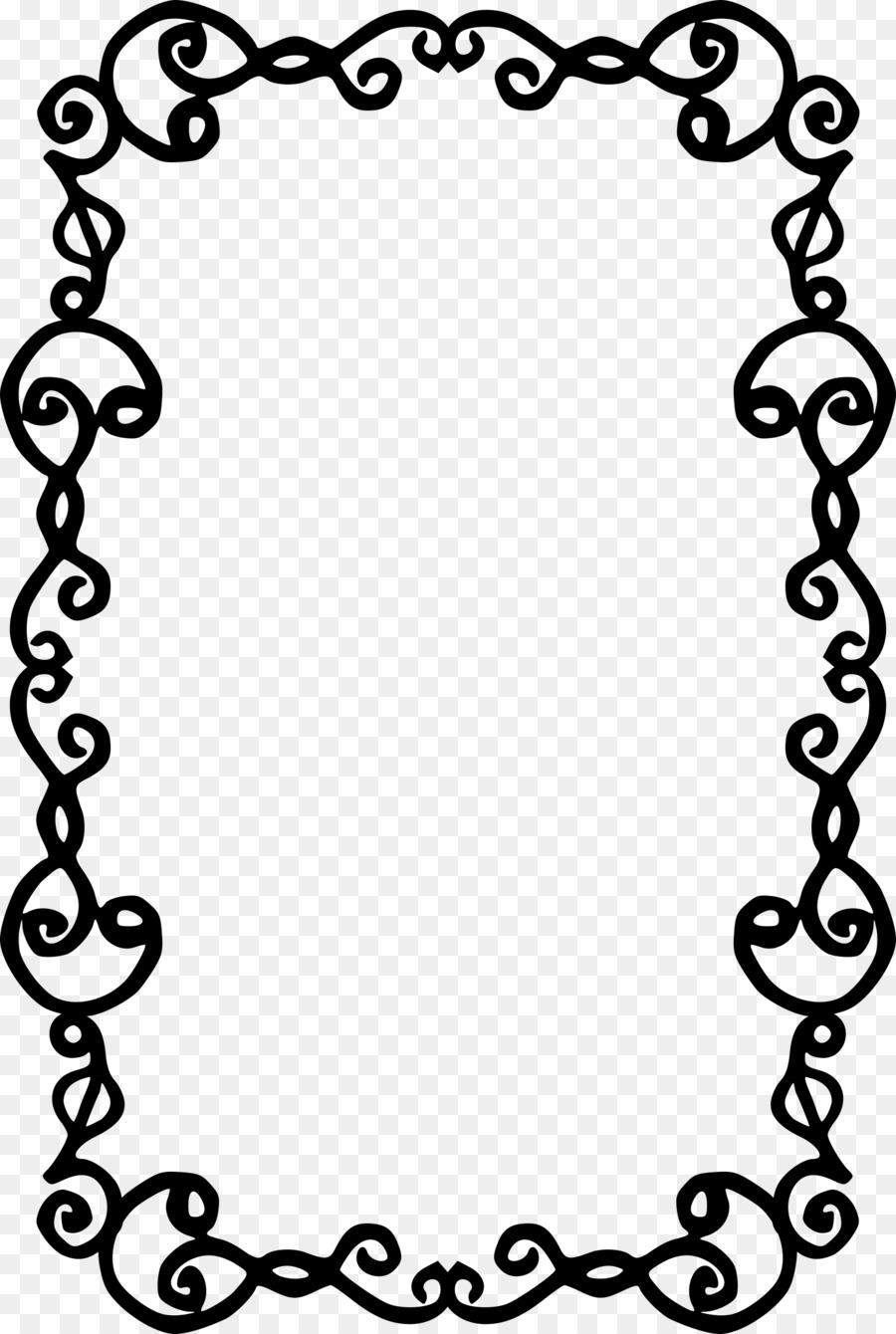 Picture Frames Photography Clip art - simple frame png download ...