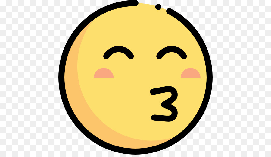 Emoji Computer Icons Symbol Kiss Smiley Png Download 512512