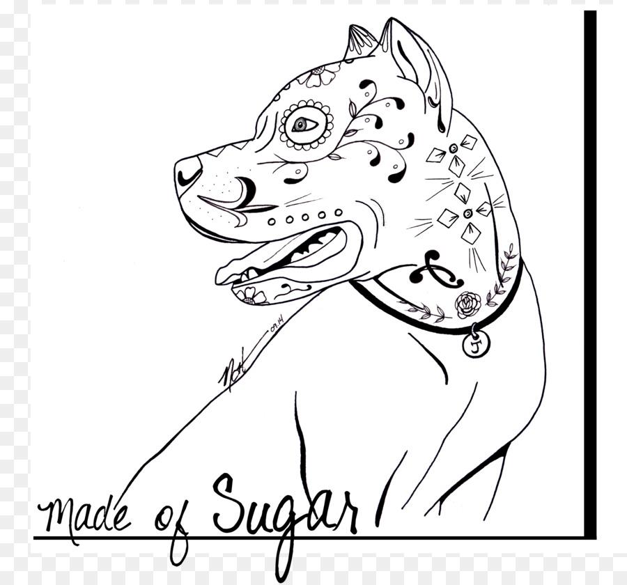 Pit bull Calavera Cachorro libro para Colorear, Dibujo de - pitbull ...