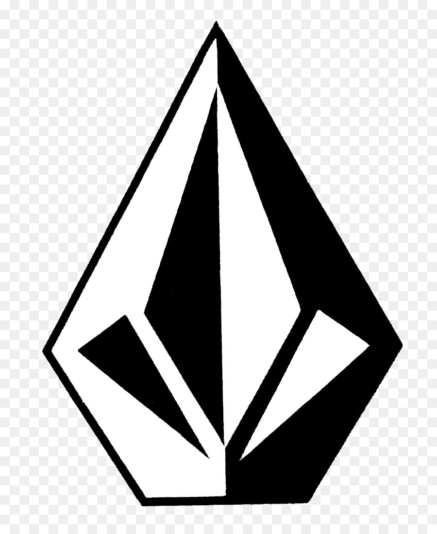 volcom clothing logo sticker decal dimond png download