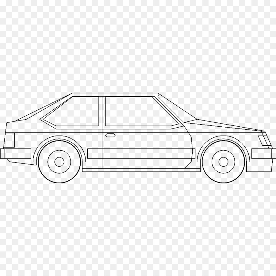 Compact car Vehicle Drawing Transport - cad png download - 1000*1000 ...