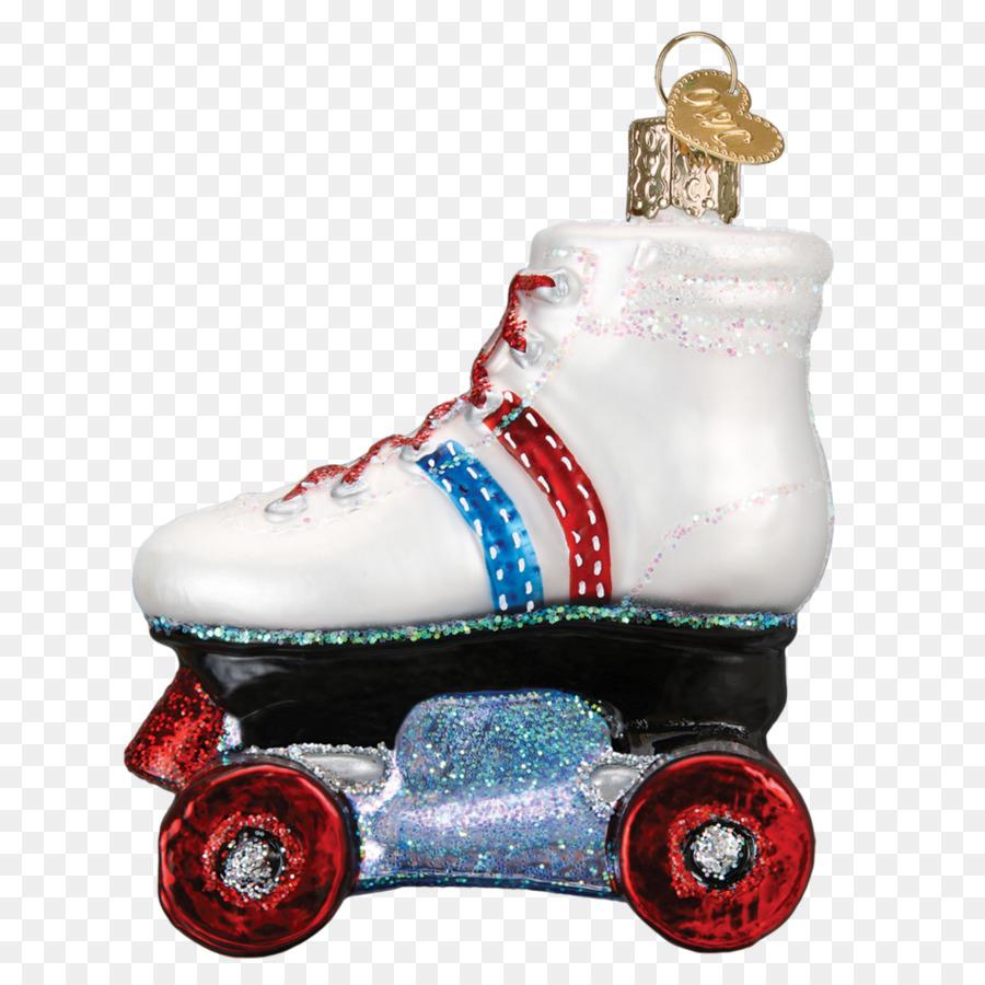 Roller skates Christmas ornament Roller skating Ice skating - roller ...
