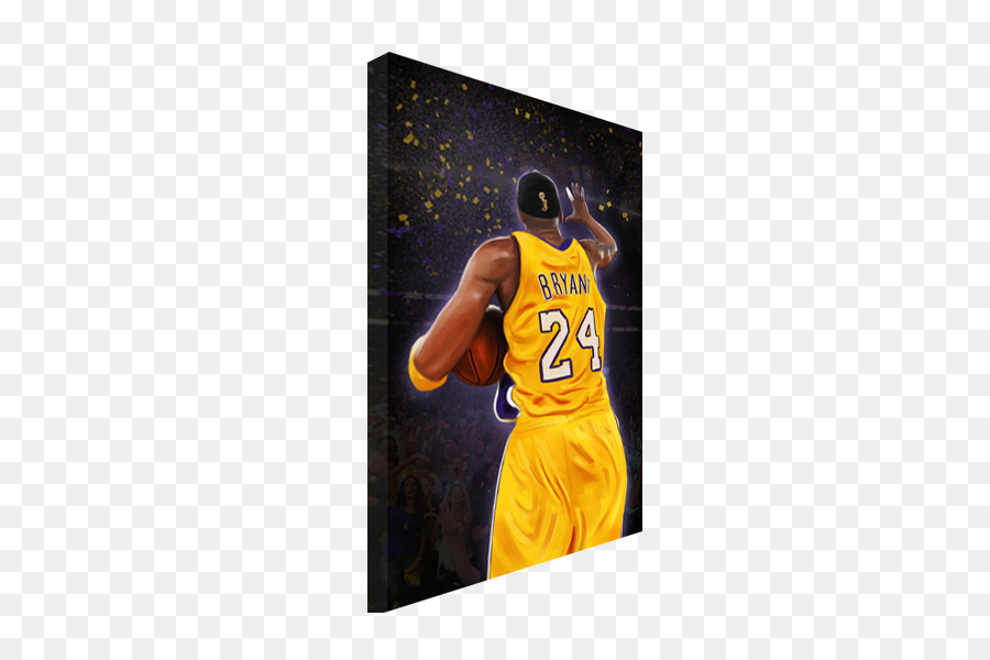 Los Angeles Lakers Painting Canvas Poster Art - kobe bryant png ...