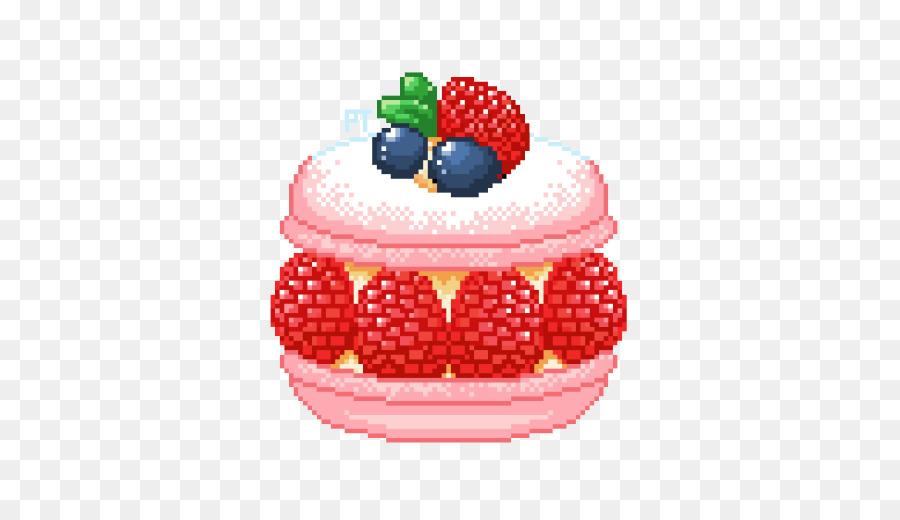 Pancake Sundae Pixel art Food raspberries png download 500502