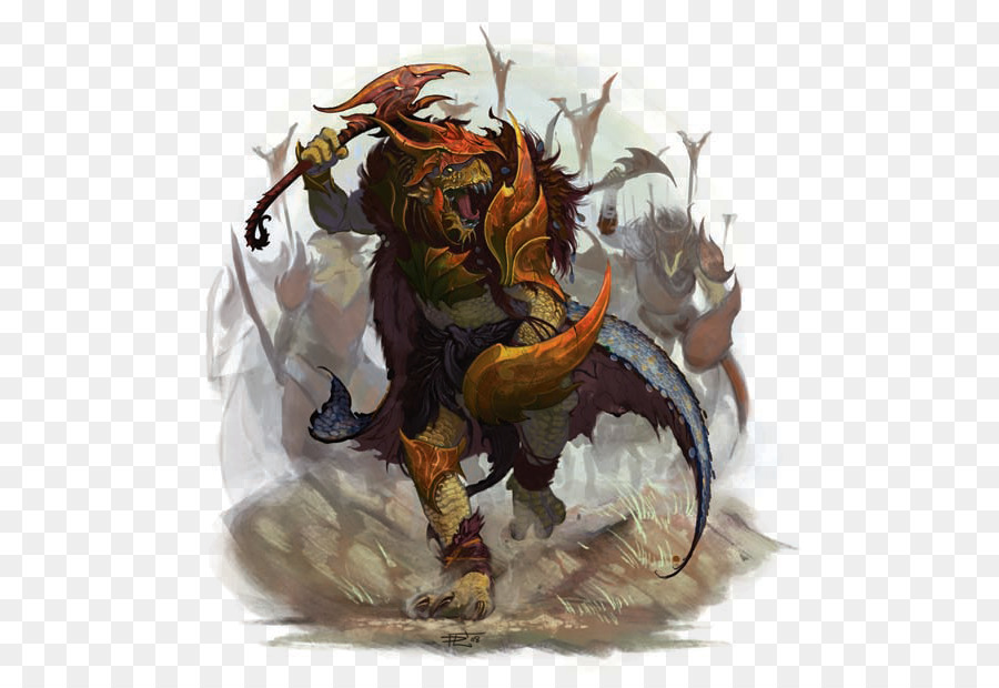 Dungeons Dragons Dragonborn Barbarian Male Fighter Dungeons And