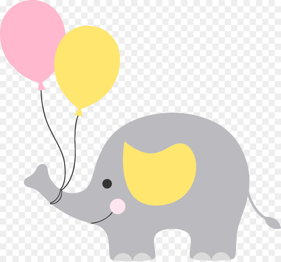 Baby Shower Elephant Clip Art Babyshower Png Download 2373 2209