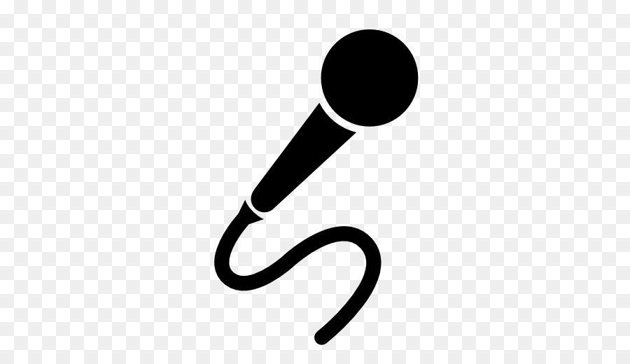 Wireless Microphone Silhouette Microphone 512 512
