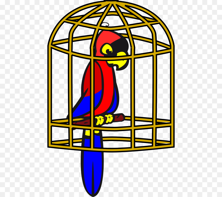 birdcage parrot clip art birdcage png download 516 800 free rh kisspng com