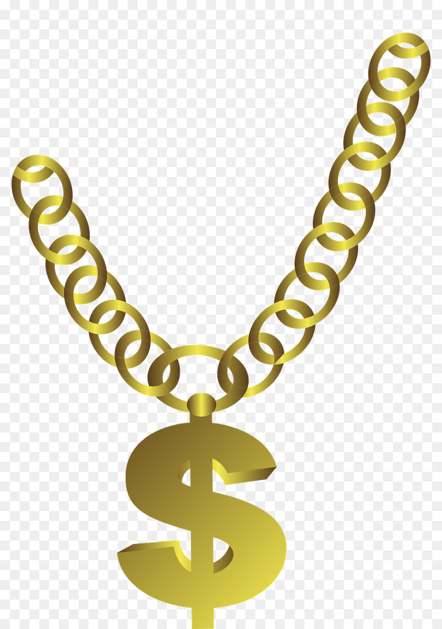 Necklace Chain Gold Je...