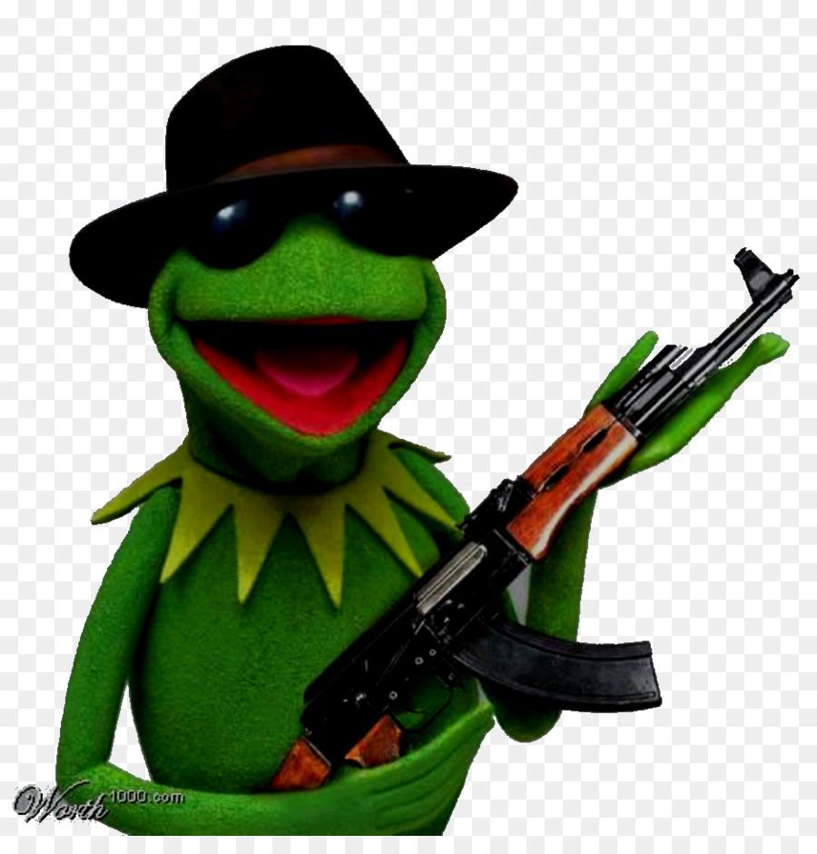 Kermit la Rana Elmo Bert - AK47 png dibujo - Transparente png dibujo ...