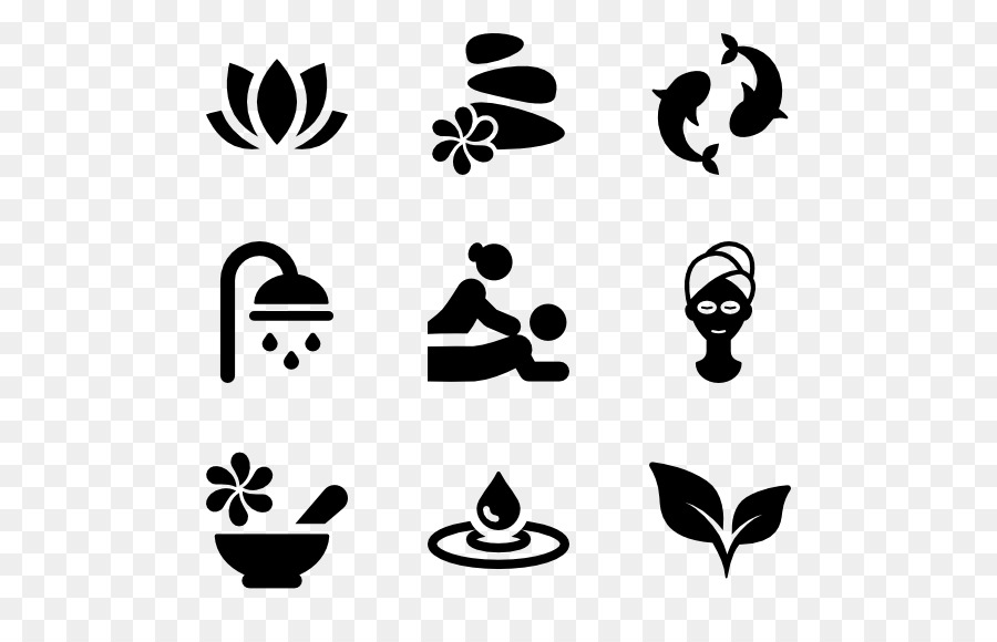 Symbol Computer Icons Spa Clip Art Relax Png Download 600564