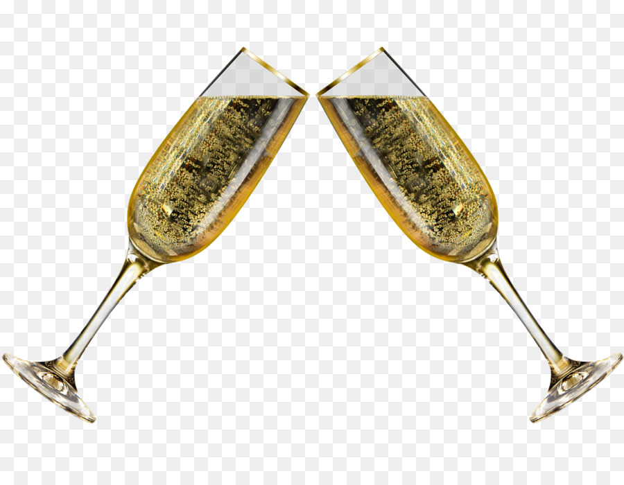 New Year\'s Day Champagne New Year\'s Eve Toast - champagne png ...