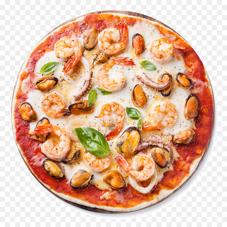 Seafood pizza Tomato sauce La Terrazza Pizzeria - pizza png download ...