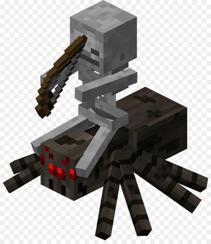 minecraft pocket edition jockey esqueleto mob papel craft