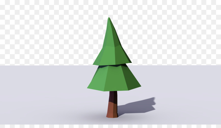 christmas tree pine conifer cone low poly pine tree - Polytree Christmas Tree