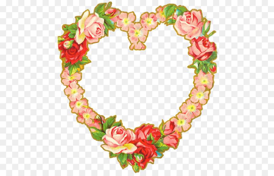 Valentine\'s Day Wedding invitation Heart Post Cards Antique - heart ...