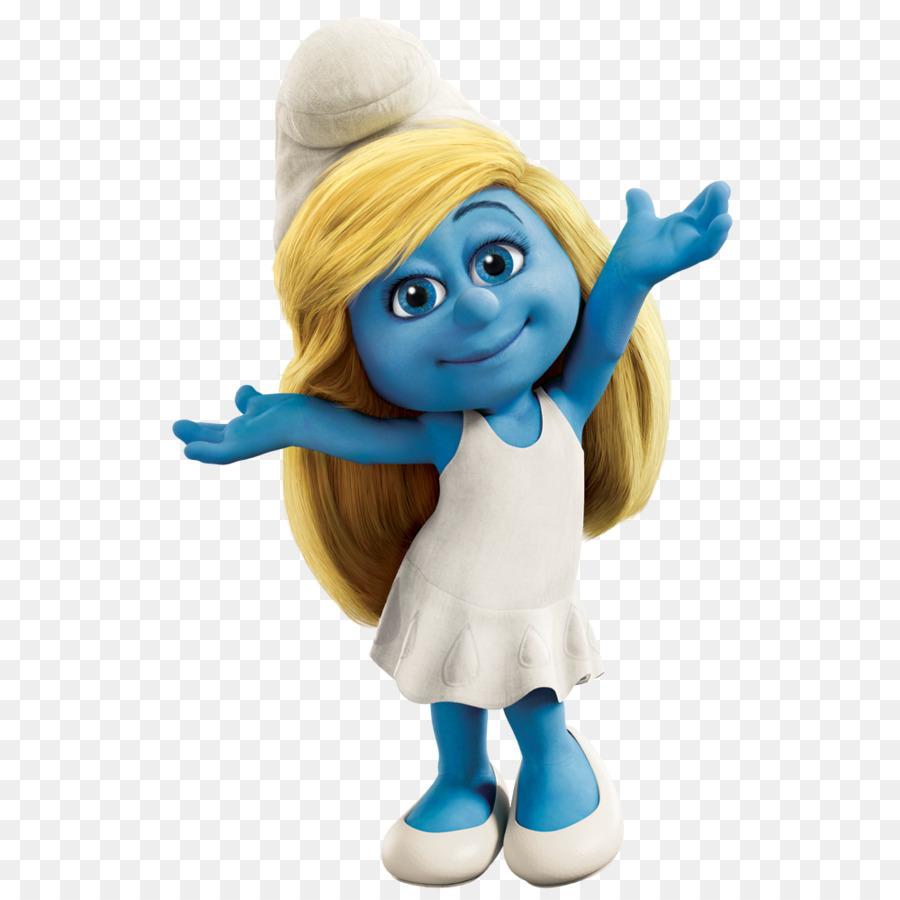 the smurfette gargamel papa smurf vexy - smurfs png download - 1000