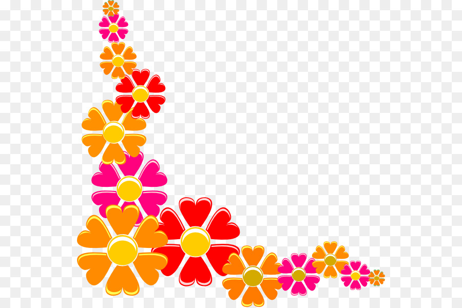 Flower Art Clip art - MEXICAN FLOWERS png download - 600 ...
