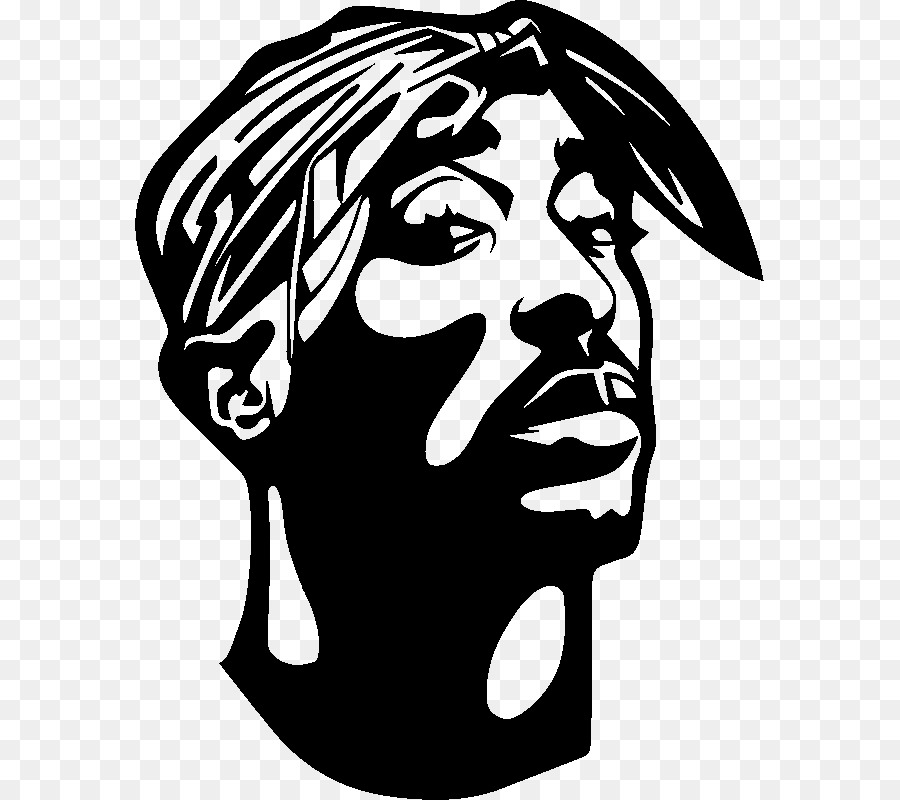 Sticker Wall Decal Paper Rapper Tupac Png Download 800