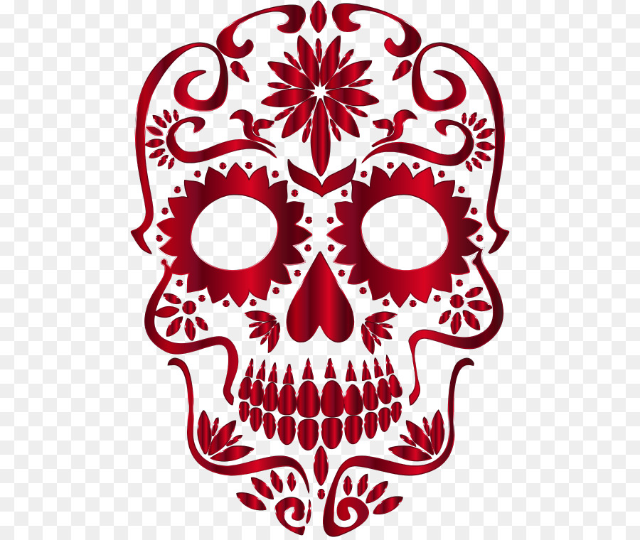 Calavera Skull Day Of The Dead Desktop Wallpaper Clip Art