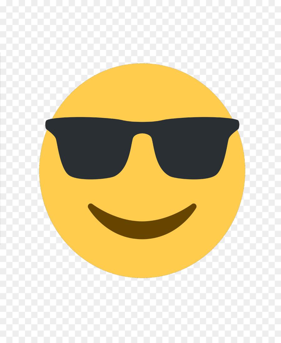 Sunglasses emoticon