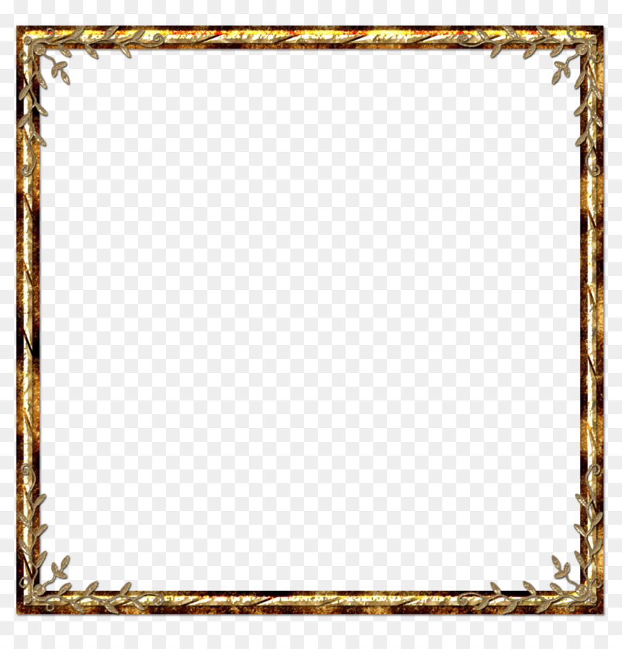 Picture Frames Gold leaf - golden frame png download - 1024*1062 ...