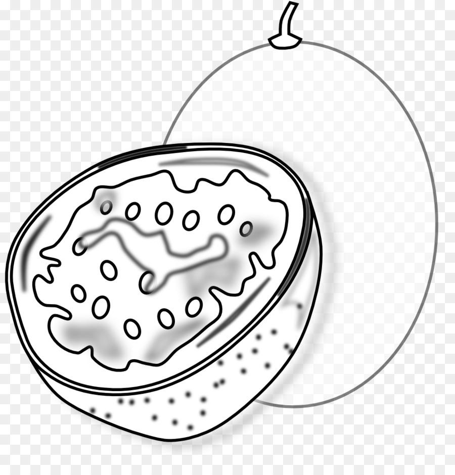 çarkıfelek Meyvesi Kitap Küçük Resim Boyama Tutku Png Indir 999