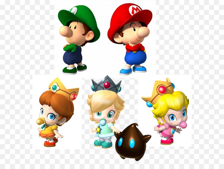 Mario kart wii rosalina a la princesa peach la princesa - Bebe mario et bebe luigi ...