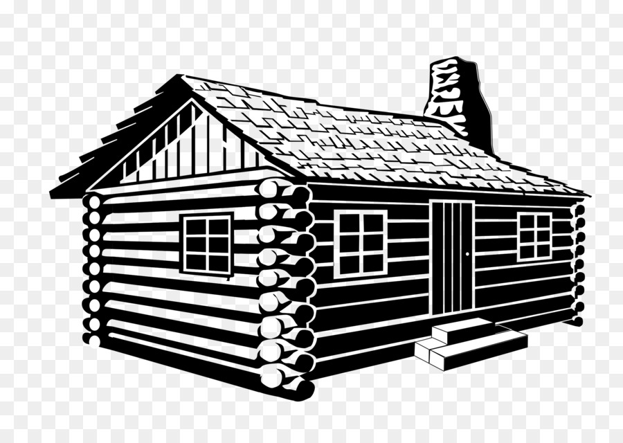 Log Cabin Drawing Clip Art