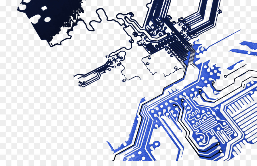 Electronic circuit Printed circuit board Desktop Wallpaper - hud png ...